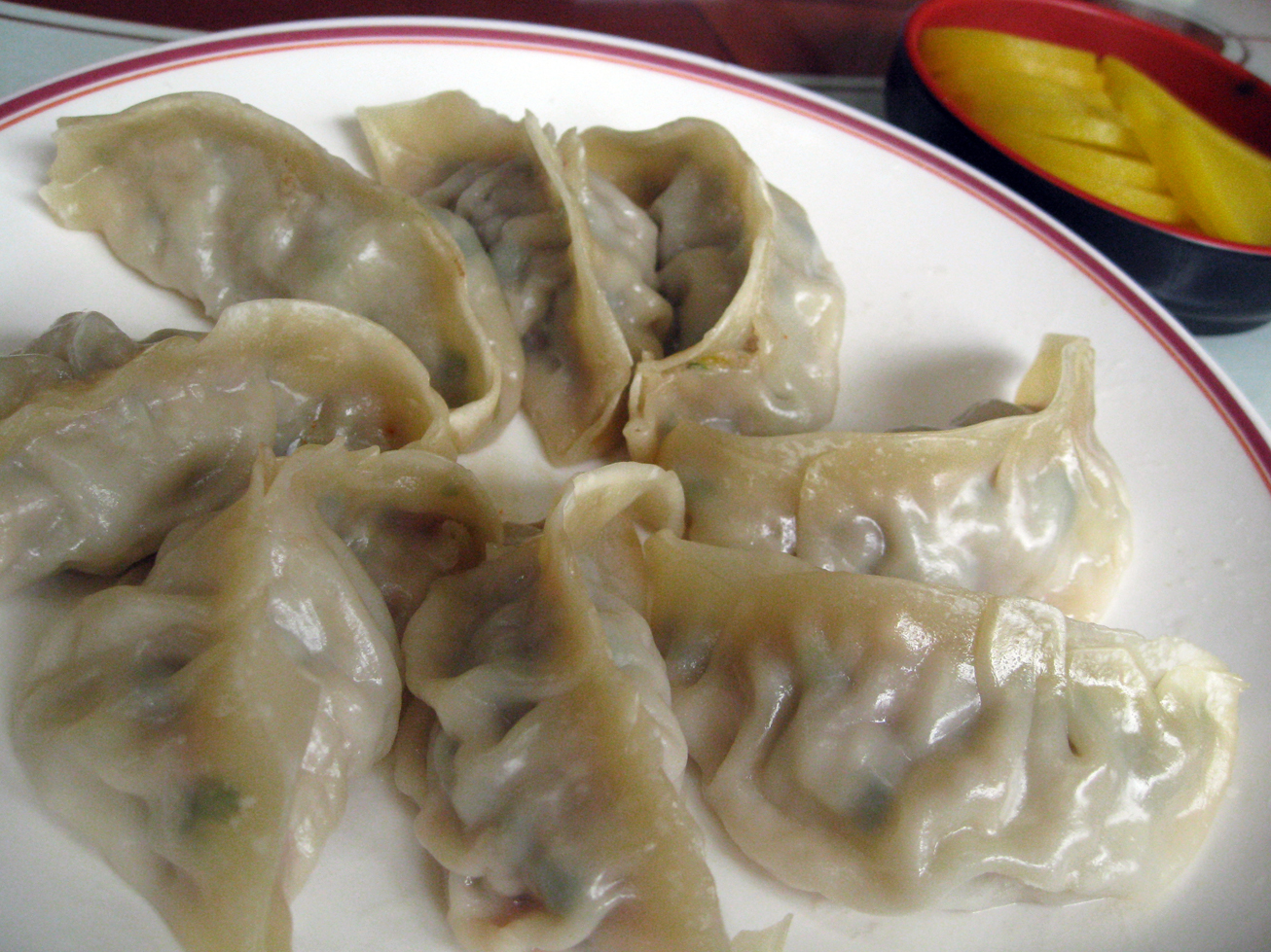 Dumplings are classified as